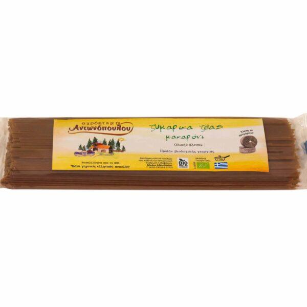 Ζυμαρικά ζέας ολικής άλεσης μακαρόνι