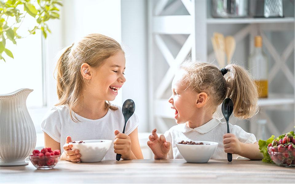 Yγιεινές διατροφικές συνήθειες για παιδιά
