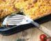 Xορτοφαγικό παστίτσιο με φακές και πέννες ζέας